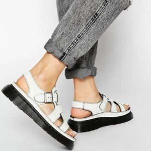 Dr Martens Asha Crackle Sandals